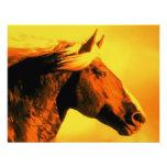 Cabeça de cavalo convite personalizado