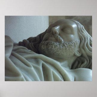 Cabeça de Jesus Crucified Impressão