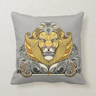cabeça do leão almofada