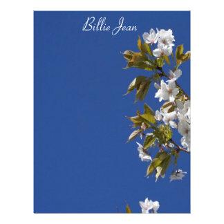 Cabeçalho da flor de Billie Jean Papel Timbrado