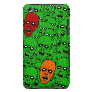 Cabeças verdes do zombi do vivo capa para iPod touch