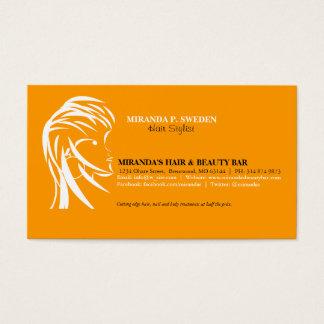 Cabeleireiro \ cartão de visita do cabeleireiro