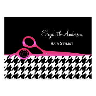 Cabeleireiro cor-de-rosa e preto feminino de Hound