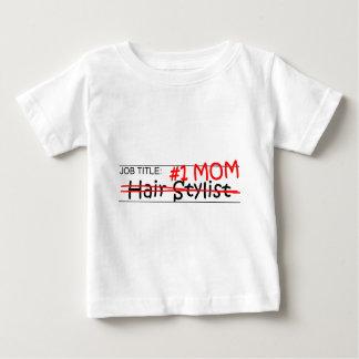 Cabeleireiro da mamã do trabalho camiseta