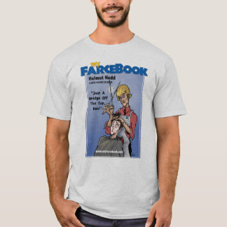 Cabeleireiro de Helmut Hedd- myFarcebook.com Uber Tshirts
