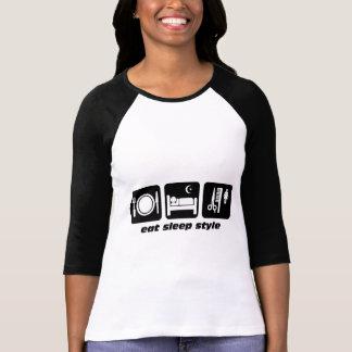 Cabeleireiro engraçado tshirts