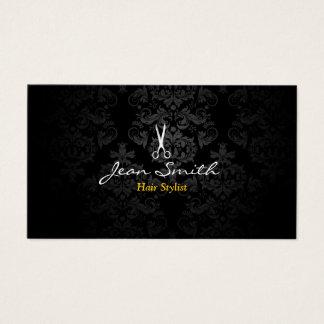 Cartões de visita com cores escuras na Zazzle