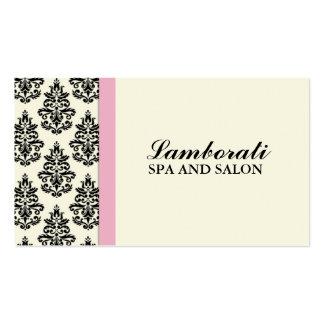 Cabeleireiro floral do salão de beleza do cartão de visita