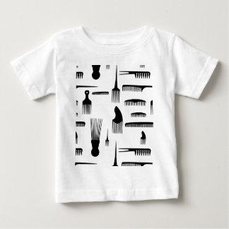 Cabelo nós vamos forma t-shirt