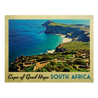 Cabo da boa esperança África do Sul Cartão Postal