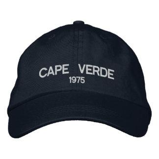 Cabo Verde personalizou o chapéu ajustável Boné Bordado