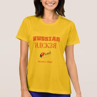 cabouqueiro do russo eu votei a camisa engraçada
