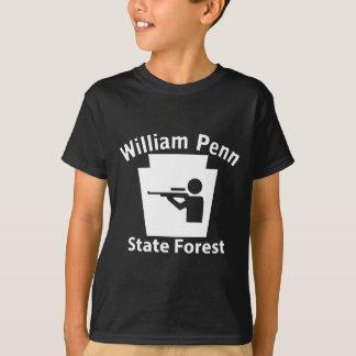 Caça de William Penn SF - t-shirt da obscuridade