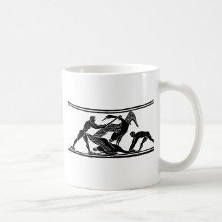 caçadores do pássaro caneca de café