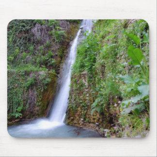 Cachoeira azul mouse pad