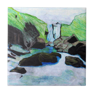 Cachoeira Azulejos De Cerâmica