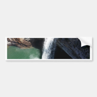 Cachoeira bonita adesivo para carro