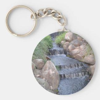 Cachoeira calma chaveiro