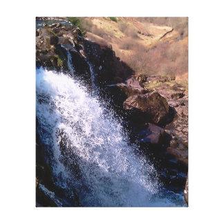Cachoeira Impressão De Canvas Envolvidas