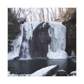 Cachoeira Impressão De Canvas Envolvida