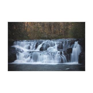 cachoeira impressão de canvas esticadas