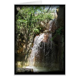 Cachoeira Cartão De Nota