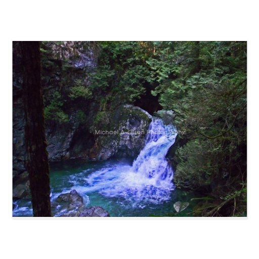 cachoeira cartões postais