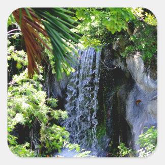 Cachoeira de Bahamas Adesivo Quadrado