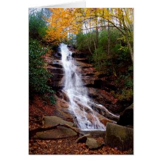 Cachoeira de Jones Gap Cartão