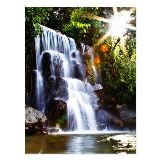 Cachoeira de San Javier das casas, Mérida Cartão Postal