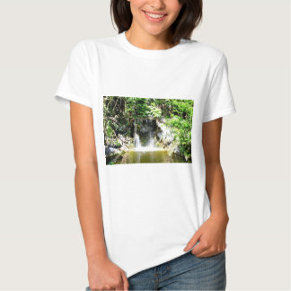 Cachoeira de Sunreflected Camiseta