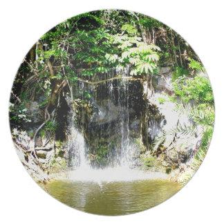 Cachoeira de Sunreflected Louça De Jantar