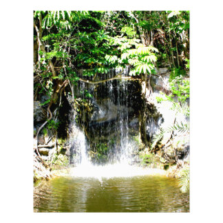 Cachoeira de Sunreflected Papel Timbrado