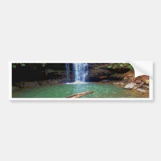 Cachoeira do Appalachian da região selvagem Adesivo Para Carro