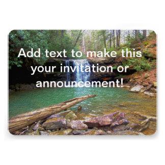 Cachoeira do Appalachian da região selvagem Convite