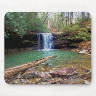 Cachoeira do Appalachian da região selvagem Mousepad