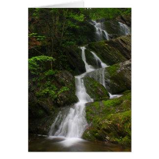 Cachoeira do leste de Berkshires da montanha das Cartão