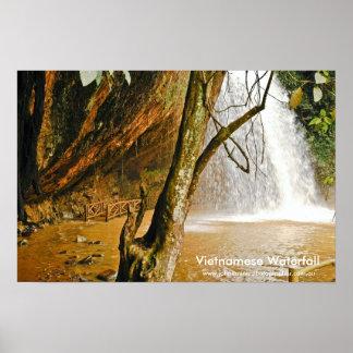 Cachoeira em Vietnam, cachoeira vietnamiana, WWW… Poster