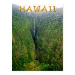 Cachoeira espectacular em Molokai, Havaí