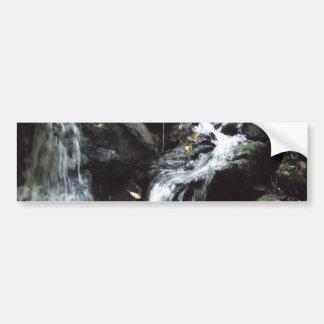 Cachoeira fumarento secreta da montanha adesivo para carro