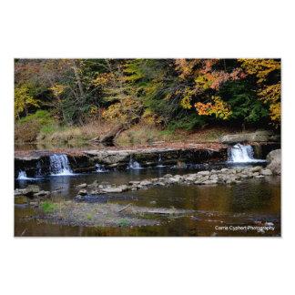 cachoeira impressão de foto