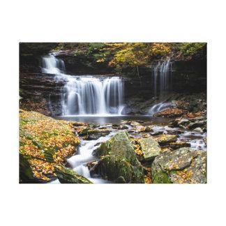 Cachoeira Impressão Em Tela