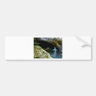 Cachoeira natural do arco adesivo para carro