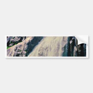 Cachoeira norueguesa adesivo para carro