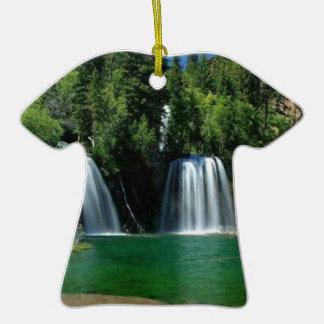 cachoeira enfeite para arvore de natal