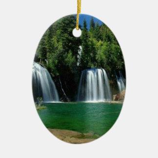 cachoeira enfeite de natal