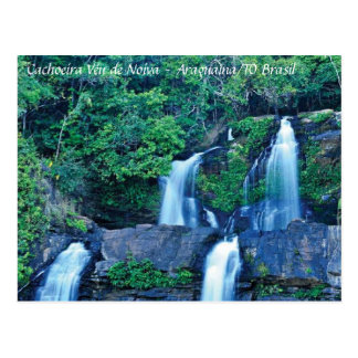 Cachoeira Véu de Noiva Cartao Postal