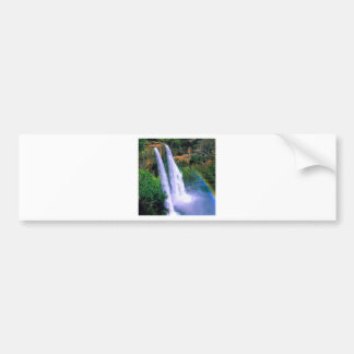 Cachoeira Wailua Kauai Havaí Adesivo Para Carro