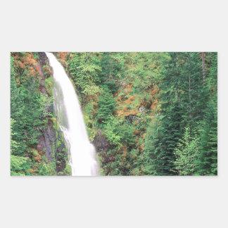 Cachoeira Willamette Adesivo Retangular