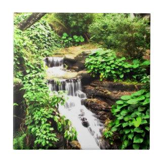 cachoeiras azulejo quadrado pequeno